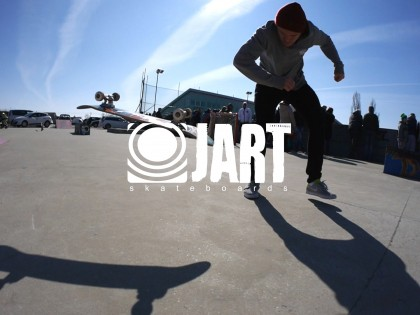 Kubo Ivančík za Jart Skateboards