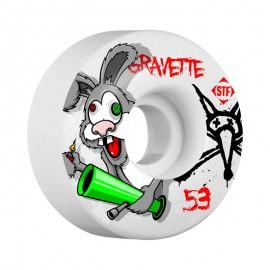 Bones Wheels STF Pro Gravette Bonkers 53mm V2